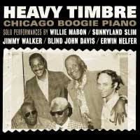 click CD SR5002: Heavy Timbre — Chicago Boogie Piano
