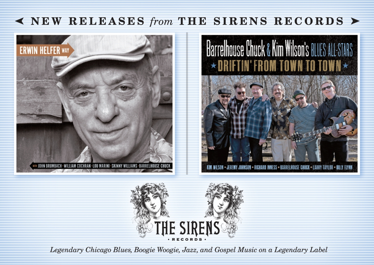 Two new CDs from The Sirens Records - front cover